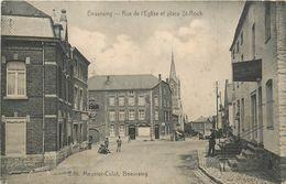 BELGIQUE  BEAURAING  Rue De L'église Et Place St Roch  2 Scans - Beauraing