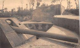 BELGIQUE - GISTEL - Pièce Du Leugenboom à MOERE - Vue De La Pièce Et Du Second Abri - Canon - Gistel