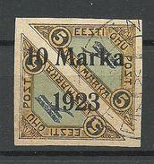 Estonia Estland 1923 Michel 43 B O - Estland
