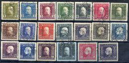 BOSNIA & HERZEGOVINA 1912 Definitive Set To 5 Kr. Used.  Michel 64-83 - Bosnia Herzegovina