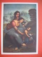 CPA  Les Cartes Postales De La Loterie Nationale ; La Vierge L'enfant Et Sainte Anne Léonard De Vinci - Cartes Postales
