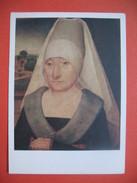 CPA  Les Cartes Postales De La Loterie Nationale ; Portrait D'une Femme  Agée Hans Memling - Cartes Postales
