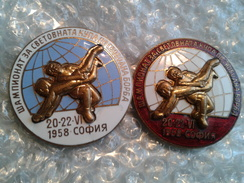 Bulgarian Badge - Wrestling