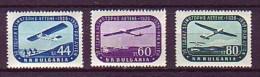 BULGARIEN - Mi-Nr. 1002 - 1004 - 30 Jahre Segelfliegen In Bulgarien Postfrisch - Flugzeuge