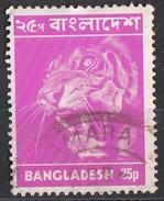 47 Bangladesh 1973 Tiger Tigre Used - Bangladesh