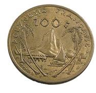 100 Francs - Polynésie Française - 1976 - Br-Alu - TB+ - - Polynésie Française