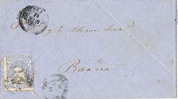 24656. Carta Entera REUS (tarragona) 1871. Alegoria. Doblado Carta Tipo Masonico - Cartas