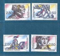 France Timbres De 1991  N°2700 A 2703   Neufs ** Parfait Prix De La Poste - France