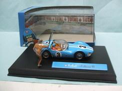Altaya / Ixo - VAILLANTE N°3 LE MANS '61 1961 Bleu Michel Vaillant BO 1/43 - Ixo