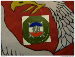 Insigne De Casque à Coller JA 1992-1993 Yougoslavie Serbie - Hoeden
