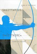 """Entier Postal De 2013 Sur Carte Postale Avec Timbre Et Illust. """"Signe Du Zodiaque : Sagitaire"""" - 1953-.... Elizabeth II"""