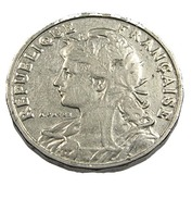 25 Centimes -   France - 1904 - Patet - Nickel - TB+ - - F. 25 Centimes