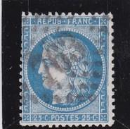 N° 60 A   GC  763      CASTELNAUDARY   /  HAUTE-GARONNE    - REF MD  +  VARIETE SUARNET N°76 - 1871-1875 Ceres