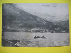 CPA  Lac Montcenis - Lago Moncenisio  En Date Du 9 Septembre 1922 - Botanik