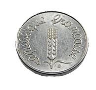 1 Centime - épi -  France - 1964 - Rebord -  Acier -  TTB+ - - A. 1 Centime