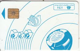 IRAN - Blue Handset, TCT Telecard, Chip GEM1.1, Used - Iran