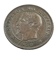 2 Centimes - Napoléon III - France - 1856 K - Bordeaux - Bronze - TTB+ - - France