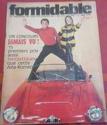 Formidable N° 1 Octobre 1965 Marianne Faithfull,Sandie Shaw, Jean Paul BELMONDO, France GALL - Musique