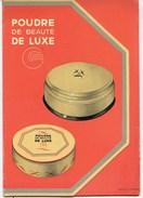 PRESENTOIR P.L.V.-   GIBBS  -  POUDRE DE LUXE - UNE  GAMME DE 7 TEINTES - Pharmacie - Beauté - Plaques En Carton