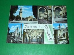 Cartolina Ricordo Di Aquileia ( Udine ) - Vedute Diverse 1955 Ca - Udine