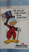 CPSM ONCLE PICSOU WALT DISNEY PUB STENA LINE - Disney