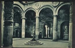 1934 FIRENZE IL CORTILE DEL PALAZZO VECCHIO  ANNULLO A TARGHETTA LEGGI DESCRIZIONE - Storia Postale