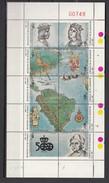 El Salvador 1987,10V In Sheetlet,dicovery America.MNH/Postfris(L3088) - Onafhankelijkheid USA