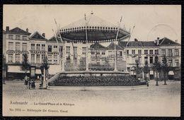 OUDENAARDE - AUDENARDE - ** LA GRAND'PLACE Et LE KIOSQUE ** Précurseur 1907 - Niet Courant - Oudenaarde