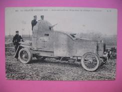 CPA  La Grande Guerre 1914 - Auto-mitrailleuse Belge Dans Les Champs à Dixmude  19/6/1918 - Equipment