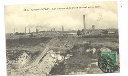 CPA  Commentry Les Usines Et Le Puits Central De La Mine N°275 - Commentry