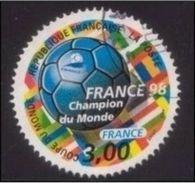 """3170 - 1998 - Coupe Du Monde De Football - France 98 - """"Champion Du Monde"""" - France"""