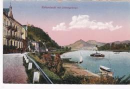 Germany Remagen Rolandsack mit Siebengebirge