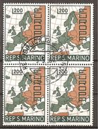 San Marino 1967 // Mi. 890 O 4er (024..558) - Gebraucht