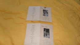 LOT DE 2 MENUS ANCIEN DE 1948. / POUR UN MARIAGE. / PONTS SOUS AVRANCHES LE 5 AVRIL 1948. - Menú