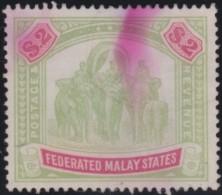 Malaya States    .   Yvert    77        .        O      .   Gebruikt    .     /    .     Cancelled - Federated Malay States