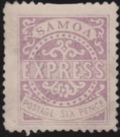 Samoa      .   Yvert  3       .       (*)      .  Geen Gom   .     /    .     No Gum - Samoa