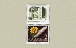 Hungary 1960. Stamp Exhibition Segmental Stamp MNH (**) Michel: 1677 - Ungarn