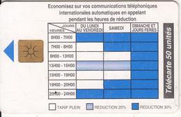 BENIN - Telephone Tariffs 2(50 Units), Chip GEM1.2, Tirage %40000, 09/96, Used - Benin