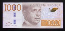 Sweden 1000 Kronor 2015 2016 AU-UNC - Suède