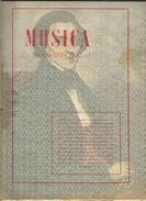 MUSICA N° 4 Revue Bi-mensuelle 5 De Febrero De 1945 - Ano 2 - Culture