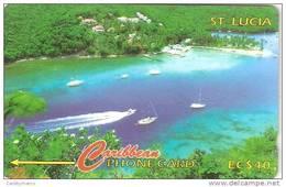*IS. ST. LUCIA: 137CSLB* - Scheda Usata - Saint Lucia