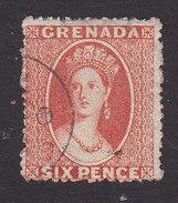 Grenada, Scott #5, Used, Queen Victoria, Issued 1863 - Grenada (...-1974)