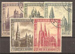 San Marino 1967 // Mi. 897/901 O (024..562) - Gebraucht