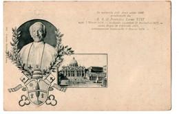 RELIGION . S. S. IL PONTEFICE LEONE XIII . Léon XIII - Réf. N°3287 - - Popes