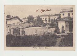 FIUME - CASERMA DIAZ - CARTOLINA VIAGGIATA VERSO VERONA  1927 - Croazia