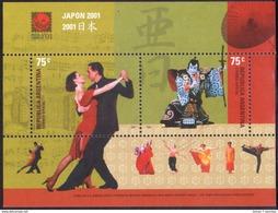 """Argentine - 2001 - Exposition Philatélique Mondiale """"Japon 2001"""". - Yvert BF 77 - Argentinië"""