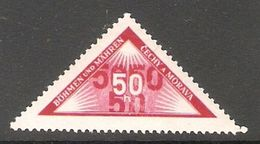 004877 Bohemia & Moravia 1939 Parcel Post 50h MNH - Nuovi