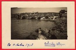 -- CARTE PHOTO -  VUE DE OCHRIDA  -- - Albanie