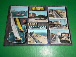 Cartolina Saluti Da Alba Adriatica - Vedute Diverse 1966 - Teramo