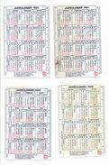7 Kalenders ABN-Amrobank Jaren 80 En 90 - Calendriers